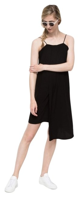 Preload https://item4.tradesy.com/images/black-panel-slip-medium-new-with-tags-above-knee-short-casual-dress-size-8-m-4680373-0-0.jpg?width=400&height=650