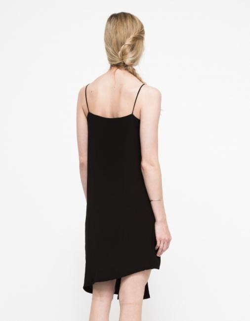 Need Supply - Stelen short dress Black Split Panel Sheath Relaxed Fit Asymmetrical Minimalist on Tradesy
