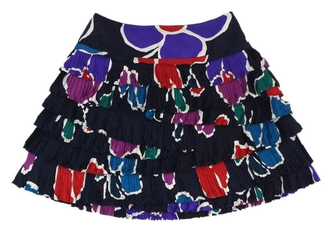 Marc by Marc Jacobs Print Pleated Tiers Skirt