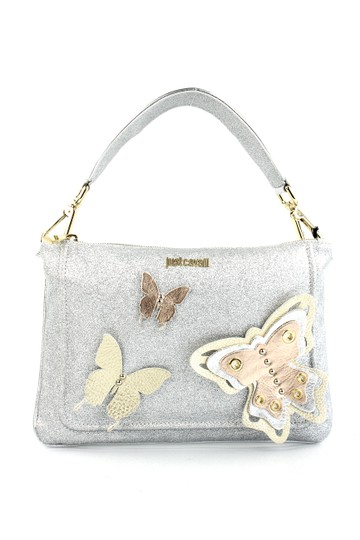 Preload https://item2.tradesy.com/images/just-cavalli-butterfly-embellished-silver-leather-clutch-4681051-0-2.jpg?width=440&height=440