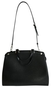 Louis Vuitton Satchel in Black, noir