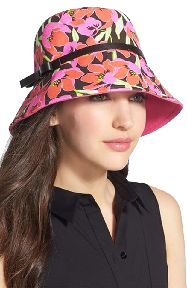 73d1cb4941431 Kate Spade Brand New KATE SPADE NEW YORK Tropical Floral Bucket Hat Image 0  ...