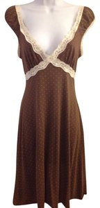One Clothing short dress Brown on Tradesy
