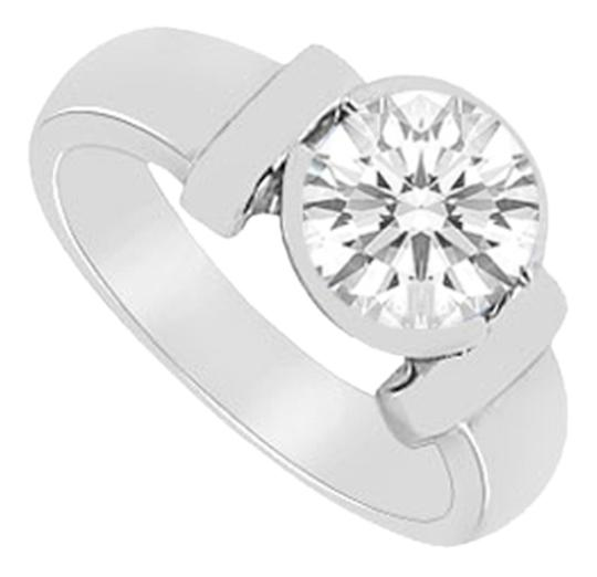 Preload https://item2.tradesy.com/images/lovebrightjewelry-silver-two-carat-solitaire-with-triple-aaa-quality-cubic-zirconia-bezel-set-in-925-4683466-0-0.jpg?width=440&height=440