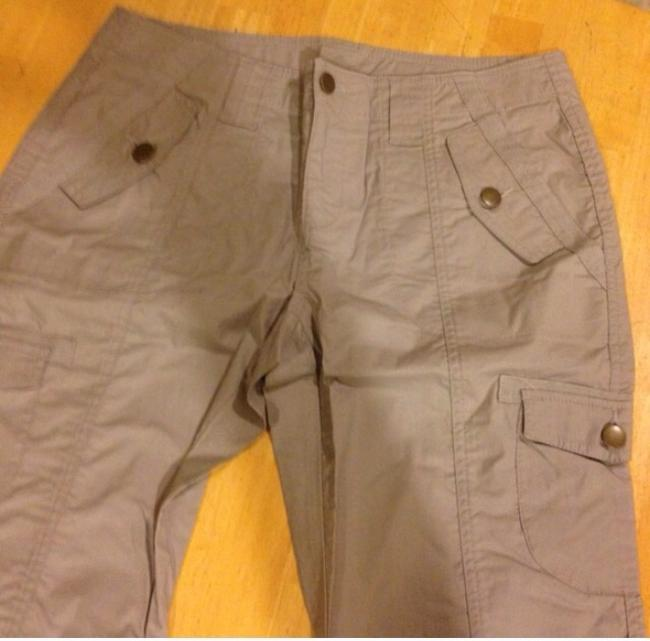 Boston Proper Capris Gray