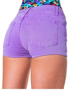 American Apparel Mini/Short Shorts Purple