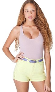 American Apparel Shorts Citron