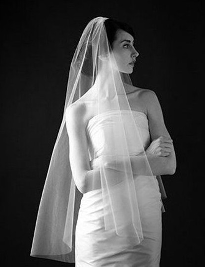 Ivory Medium Designer Bridal Veil
