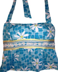 Lilly Pulitzer NEW Blue Halter Top