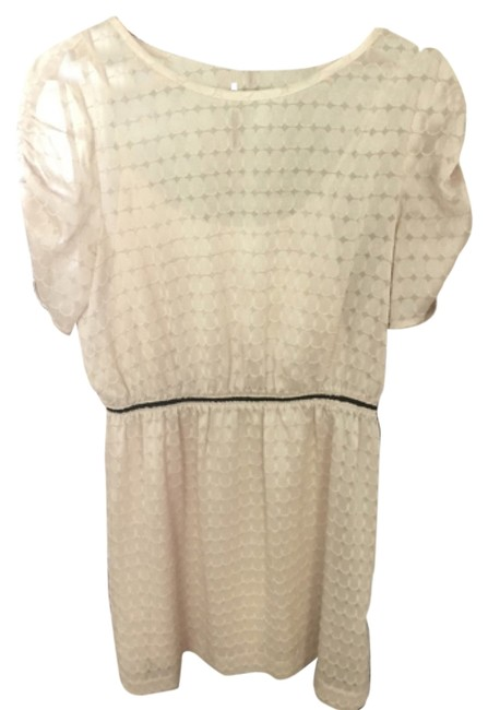 Banana Republic short dress Cream on Tradesy