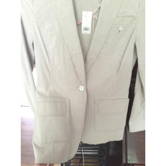 Banana Republic Tan/cream Blazer