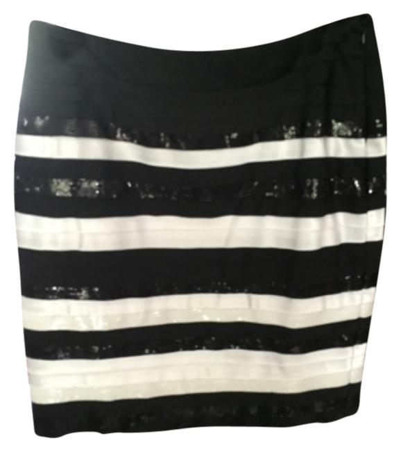 White House | Black Market Skirt White/black