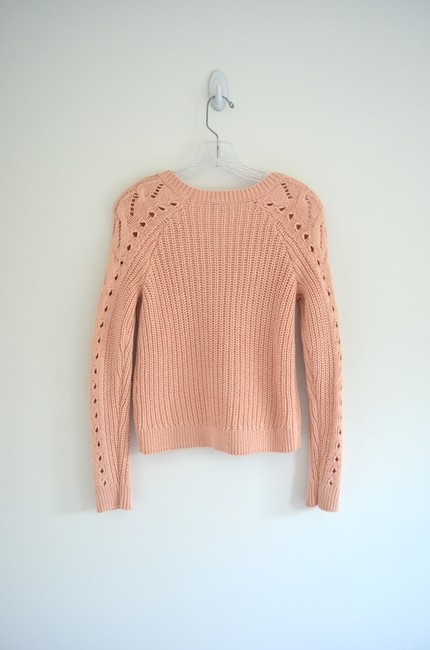 Lucky Brand Knit Cable Knit Chunky Cozy Pastel Sweater