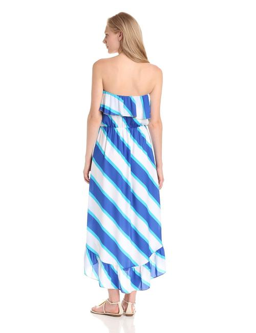 blue Maxi Dress by Lilly Pulitzer Resort White Strip Hi Lo Maxi Sale Clearance