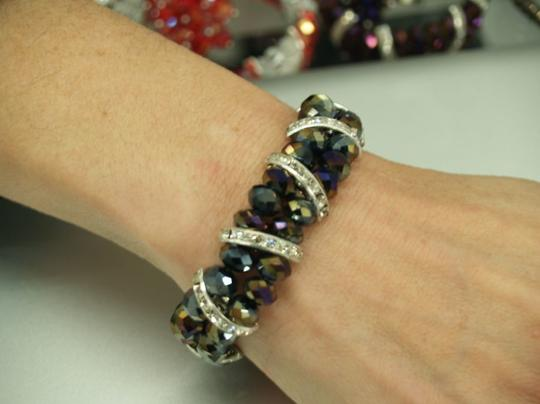 Multi/Silver Multicolor Matching Ring Set Rb03 Bracelets
