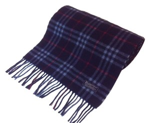 Burberry BURBERRY Plaid 100% Lamb Wool Scarf
