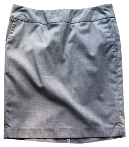 Banana Republic Suiting Workwear Skirt Gray
