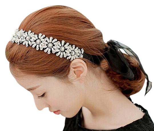 Preload https://item5.tradesy.com/images/black-pearl-and-crystal-headband-scarf-hair-accessory-4693624-0-0.jpg?width=440&height=440
