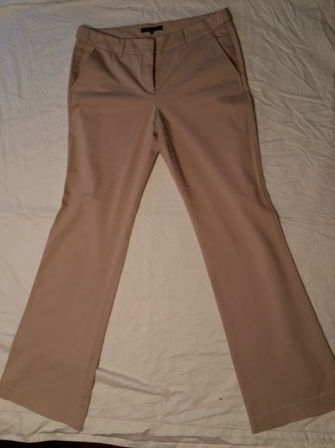 Theory Boot Cut Pants Tan