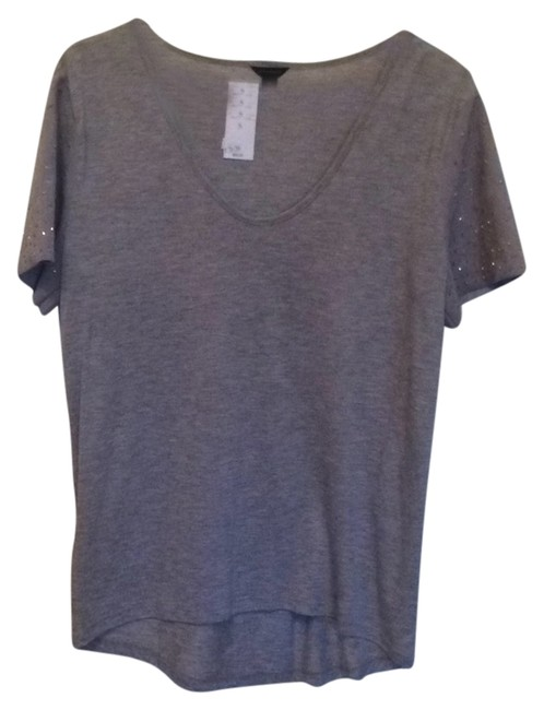 Preload https://item3.tradesy.com/images/ann-taylor-grey-shirt-with-suede-sleeves-night-out-top-size-4-s-4694032-0-0.jpg?width=400&height=650