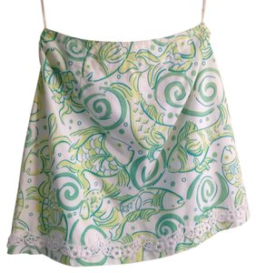 Lilly Pulitzer Mini Skirt Print