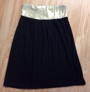 Fighting Eel Knee Skirt Black