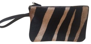 Vicki Jean Vicki Jean Pony Fur and Black Leather Wristlet!