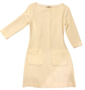 Three Dots short dress Cream on Tradesy