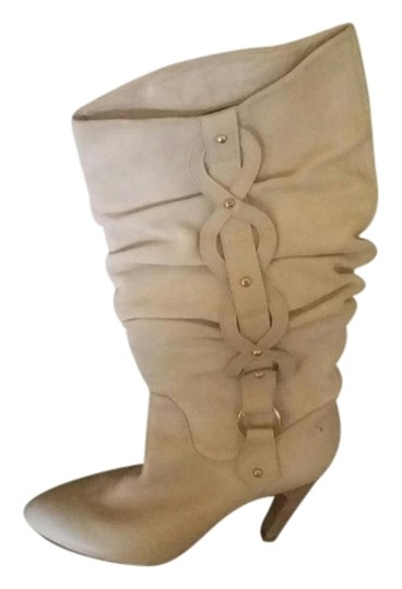 Isabella Fiore Tall Size 9 Preowned Tan Boots