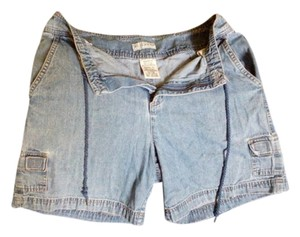 White Stag Denim Shorts-Distressed