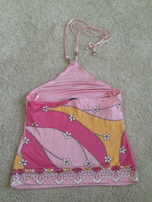Banana Republic Pink Halter Top