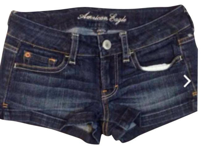 American Eagle Outfitters Mini/Short Shorts Dark denim