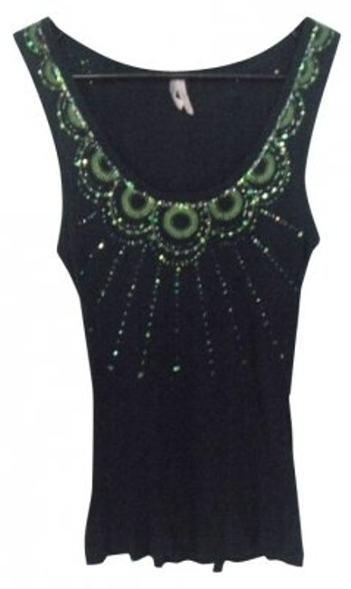 Preload https://img-static.tradesy.com/item/4697/sparkle-and-fade-blue-tank-topcami-size-8-m-0-0-650-650.jpg