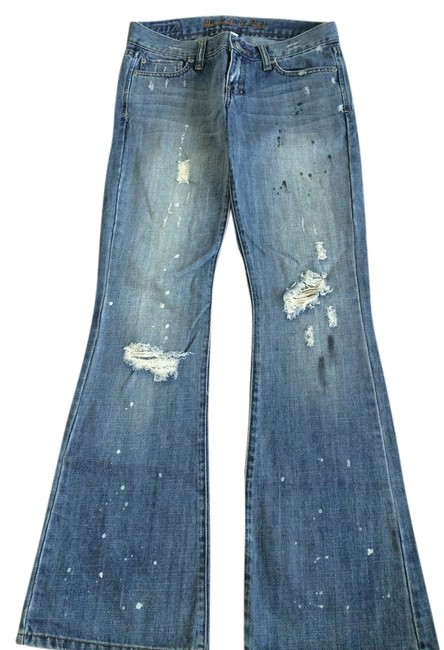Preload https://item5.tradesy.com/images/abercrombie-and-fitch-blue-distressed-flare-leg-jeans-size-26-2-xs-4697104-0-0.jpg?width=400&height=650