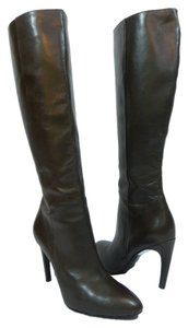 Via Spiga Leather Knee High Brown Boots