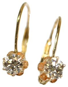 Wire Diamond Studs Russian Style