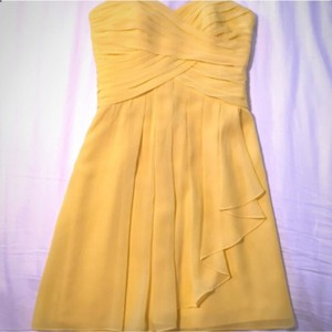 David's Bridal Sunbeam Yellow Dress
