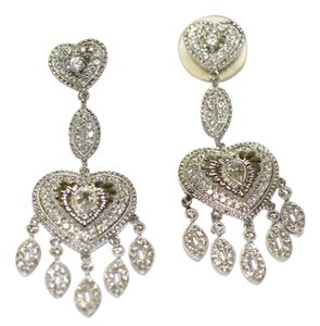 Brilliant Chandalier Diamond Earrings