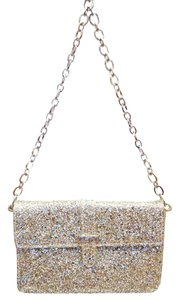 Furla New Glitter Leather Shoulder Bag