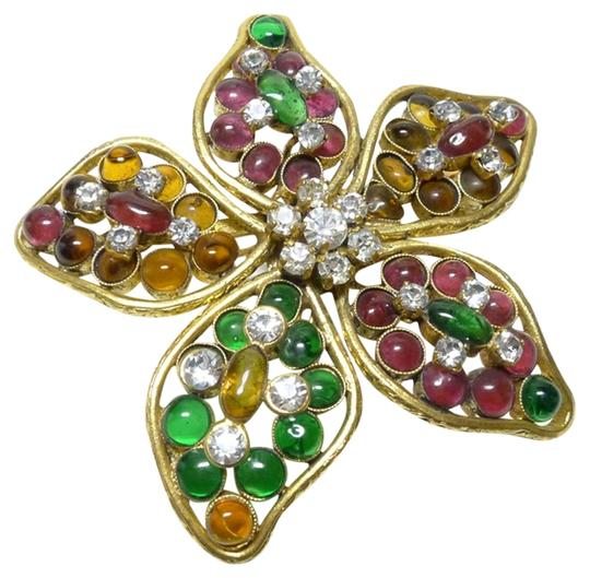 Preload https://item3.tradesy.com/images/chanel-authentic-chanel-vintage-multicolor-gripoix-ultra-rare-flower-brooch-pin-4698112-0-0.jpg?width=440&height=440