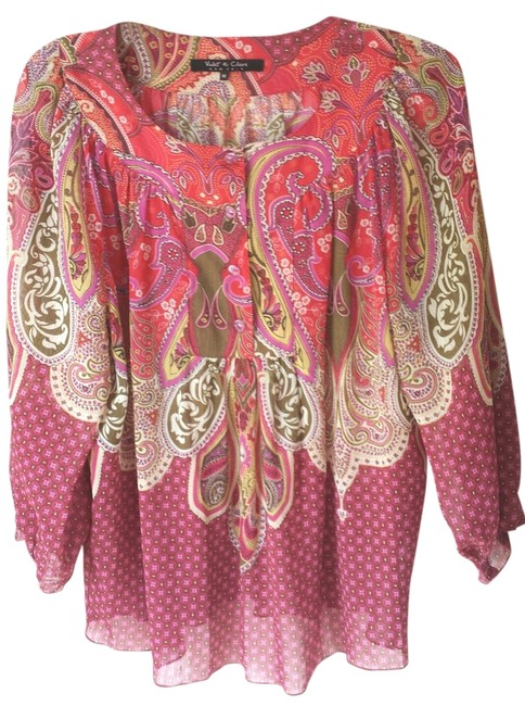 Preload https://item1.tradesy.com/images/other-boho-blouse-tunic-pink-4698175-0-0.jpg?width=400&height=650