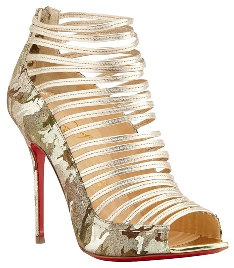 Christian Louboutin Gold Boots