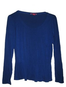 Sunny Leigh Womens Royal Top Blue