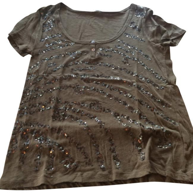 Preload https://item5.tradesy.com/images/jcrew-brown-cotton-with-sequins-tee-shirt-size-8-m-4699219-0-0.jpg?width=400&height=650