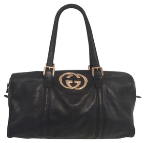 Gucci Shoulder Tote in black