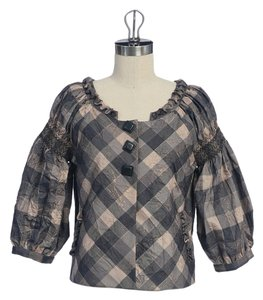 Anthropologie Plaid Jacket