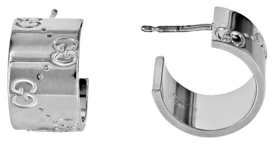 Preload https://item4.tradesy.com/images/gucci-18k-white-gold-wide-icon-huggie-earrings-4699453-0-0.jpg?width=440&height=440