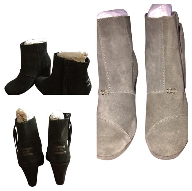 Item - Green Boots/Booties Size US 6.5 Wide (C, D)