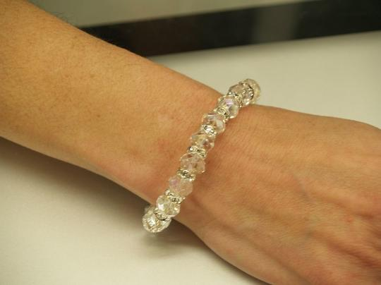 Faceated Glass Bracelet B12