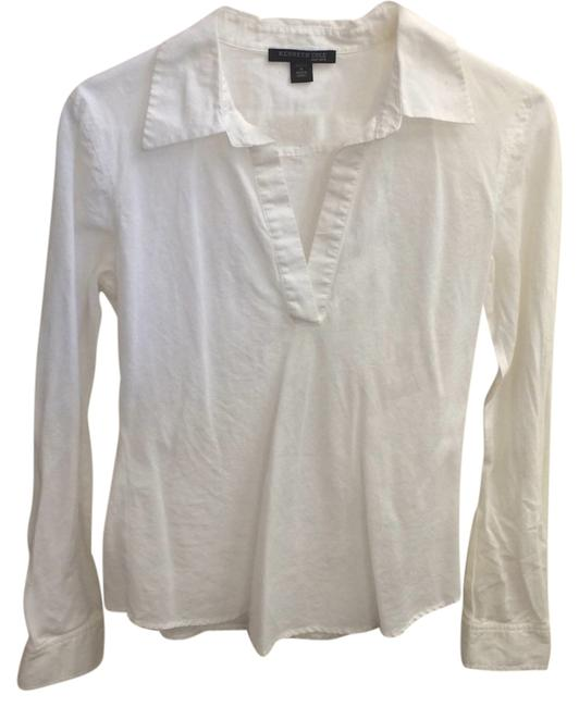 Preload https://item4.tradesy.com/images/kenneth-cole-white-blouse-size-8-m-4700488-0-0.jpg?width=400&height=650